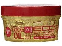 EcoStyler Moroccan Argan Oil Styling Gel, 8 Fluid Ounce - Image 2
