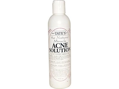 Tate's The Natural Miracle Acne Solution 8 Oz.