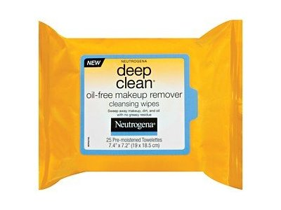 Neutrogena Deep Clean Oil-free Makeup Remover Cleansing Wipes, Johnson & Johnson - Image 1