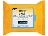 Neutrogena Deep Clean Oil-free Makeup Remover Cleansing Wipes, Johnson & Johnson - Image 2