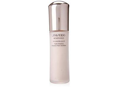 Shiseido Benefiance Wrinkle Resist 24 Night Emulsion for Unisex, 2.5 Ounce