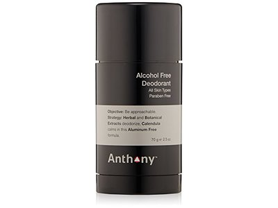 Anthony Alcohol Free Deodorant, 2.5 oz - Image 1