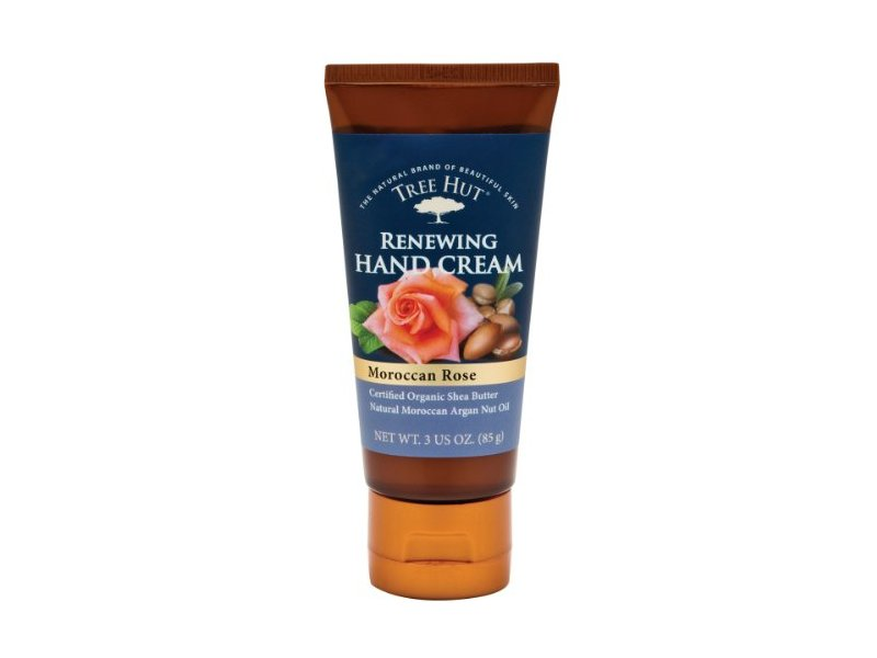 Tree Hut Hand Cream, Moroccan Rose, 3 Ounce