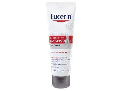 Eucerin Diabetics' Dry Skin Relief Foot Creme