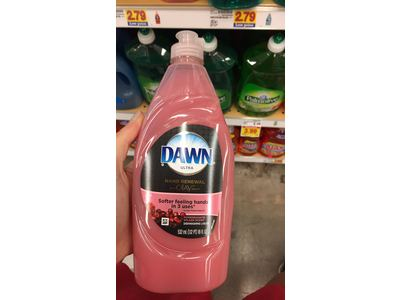 Dawn Ultra Dishwashing Liquid with Olay, Pomegranate Splash Scent, 20 fl oz - Image 3