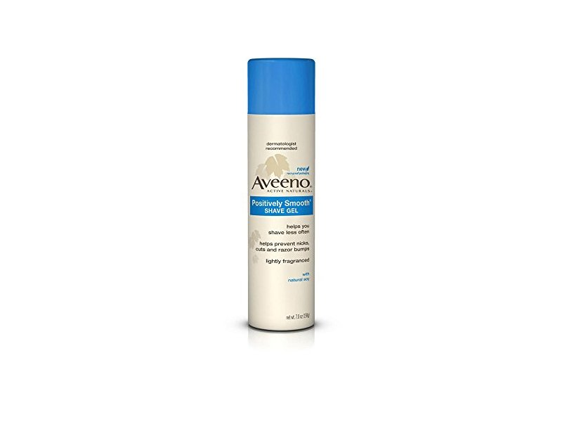 Aveeno Shave Gel with Natural Soy, 7 Ounce