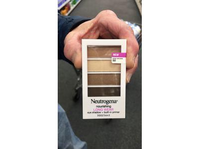 Neutrogena Nourishing Long Wear Eye Shadow Plus Primer, Mink Brown, 0.24 Ounce - Image 6