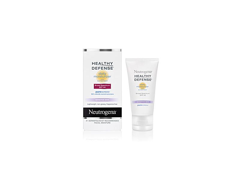 Neutrogena Healthy Defense Daily Moisturizer With Sunscreen Broad Spectrum SPF 50 - Sensitive Skin, Johnson & Johnson