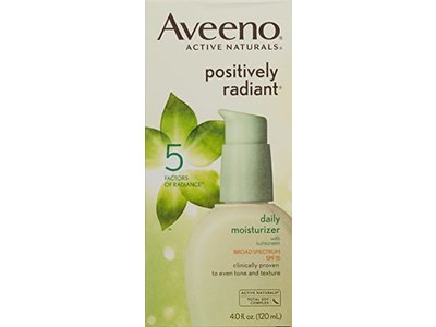 Aveeno Positively Radiant Skin Daily Moisturizer SPF 15, 4 Ounce - Image 4