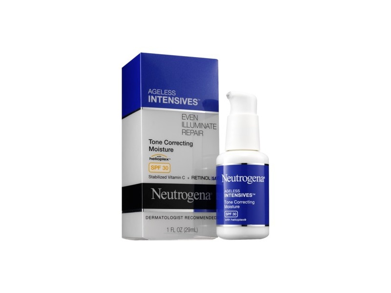 Neutrogena Ageless Intensives Tone Correcting Daily Moisturizer Broad Spectrum SPF 30, Johnson & Johnson