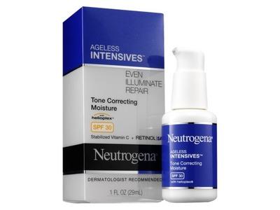Neutrogena Ageless Intensives Tone Correcting Daily Moisturizer Broad Spectrum SPF 30, Johnson & Johnson - Image 1