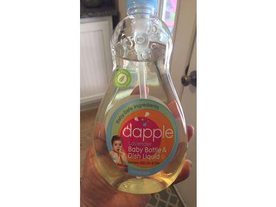 Dapple Natural Based Baby Bottle & Dish Liquid, Lavender, 16.9 fl oz (Pack of 3) - Image 3