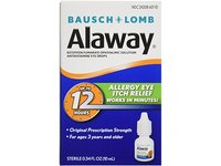 Bausch & Lomb Alaway Eye Itch Relief Drops 0.34 oz (Pack of 7) - Image 2