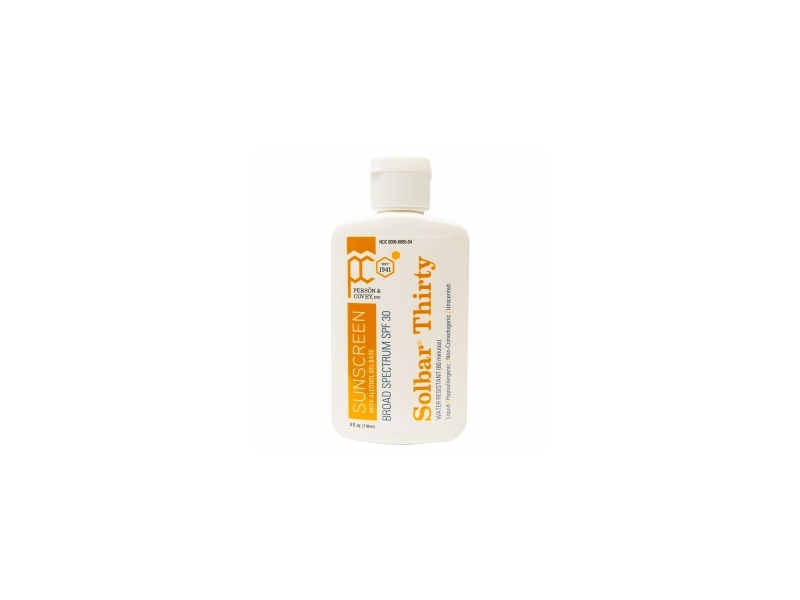 Solbar Thirty SPF 30, Person And Covey