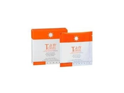 TanTowel Classic Self-Tan Towelette, Half Body Application, 10 count