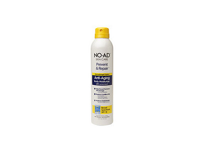 NO-AD Prevent & Repair Anti-Aging Body Moisturizer SPF 15, Spray, 6.5 fl oz
