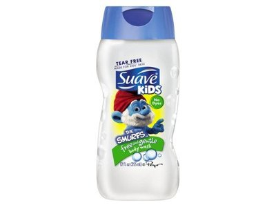 Suave Kids Body Wash, Free and Gentle, 12 fl oz