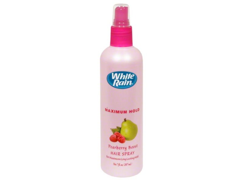 White Rain Maximum Hold Non-Aerosol Hairspray, Pearberry Boost, 7 fl oz.