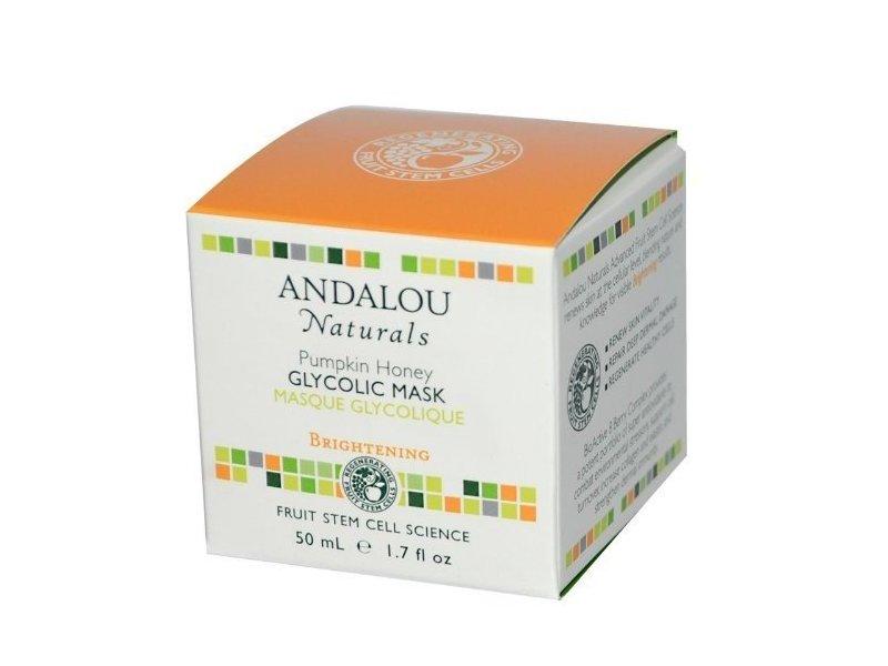 Andalou Naturals Glycolic Brightening Mask, Pumpkin Honey - 1.7 fl oz