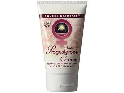 Progesterone Cream by Source Naturals (4 oz tube)
