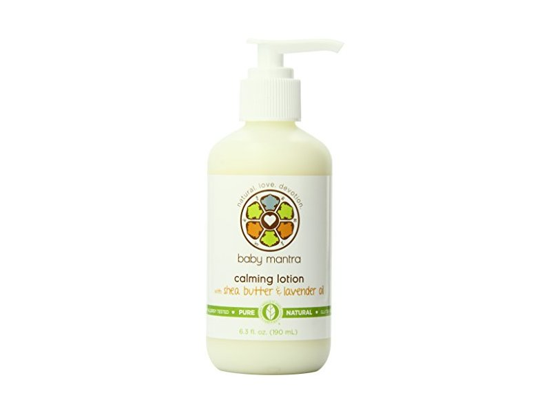 Baby Mantra Calming Lotion with Shea Butter & Lavender Oil