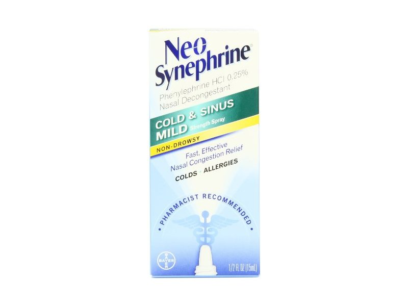 Neo-Synephrine Nasal Spray, Mild Formula
