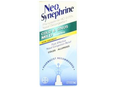 Neo-Synephrine Nasal Spray, Mild Formula - Image 1