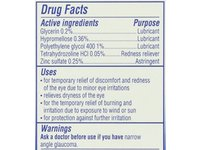Visine, Multi-Symptom Relief Eye Drops Totality, Lubricant & Astringent Redness Reliever, 0.5 oz - Image 9