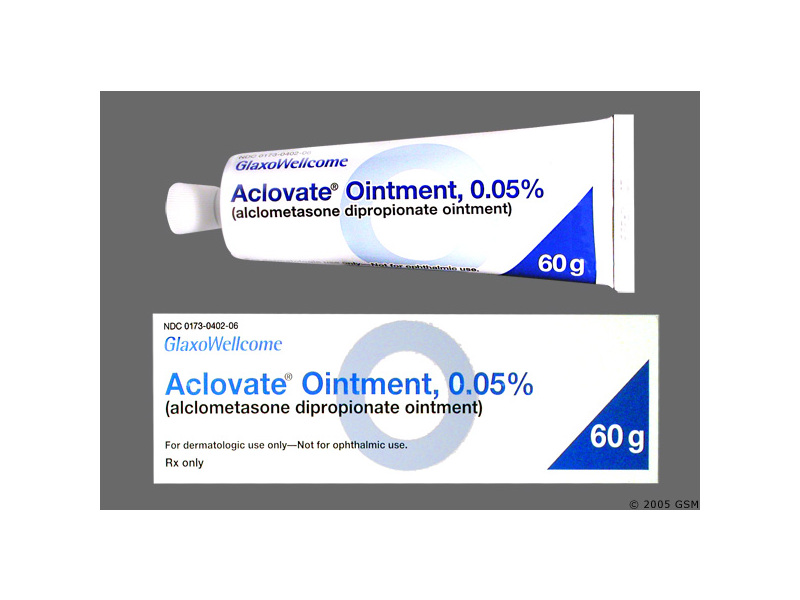Aclovate Ointment 0.05% (RX), 15 Grams, Glaxo-Smith-Kline