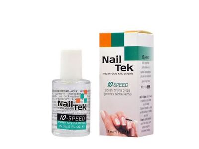 Nail Tek The Natural Nail Experts 10-Speed Polish Drying Drops - Image 1