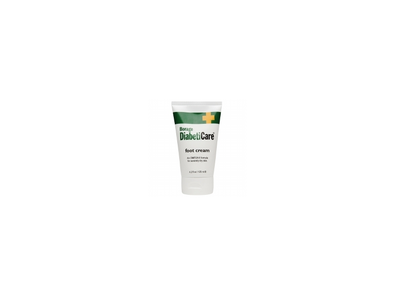 ShiKai Borage DiabetiCare Foot Cream, 4.2 oz