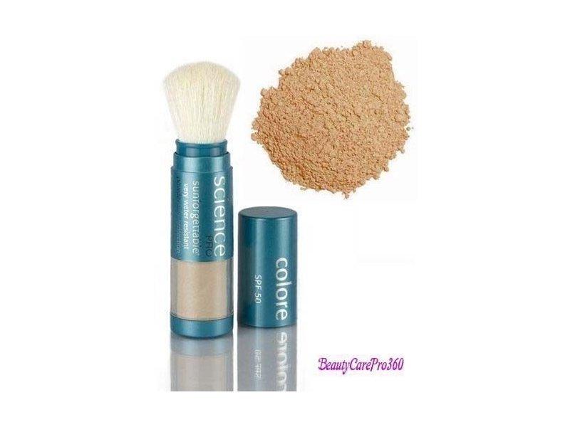 Colorescience Sunforgettable Mineral Powder Brush SPF 50 Matte 0.21 oz.