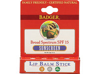 Badger Healthy Body Care Sunscreen Lip Balm, SPF15 - Image 2