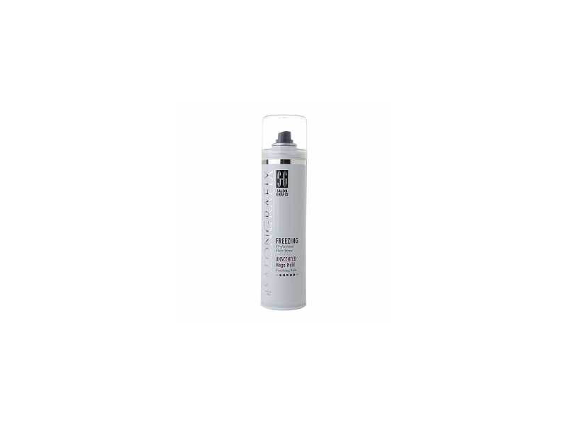 Salon Grafix Freezing Hair Spray - Unscented Mega Hold Styling Mist