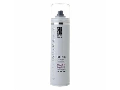 Salon Grafix Freezing Hair Spray - Unscented Mega Hold Styling Mist - Image 1