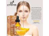 ArtNaturals Enhanced Vitamin C Serum with Hyaluronic Acid - Image 5