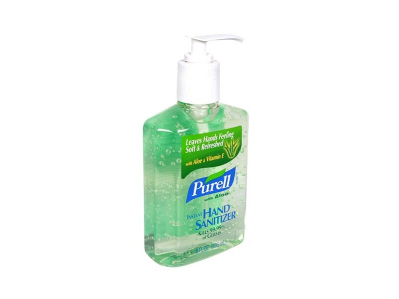 Purell Advanced Hand Sanitizer with Aloe, 8 fl oz