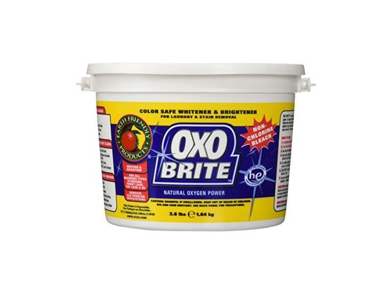 Earth Friendly OXO Brite Color Safe Whitener & Brightener For Laundry & Stain Removal Fragrance-Free - 3.6 lbs.