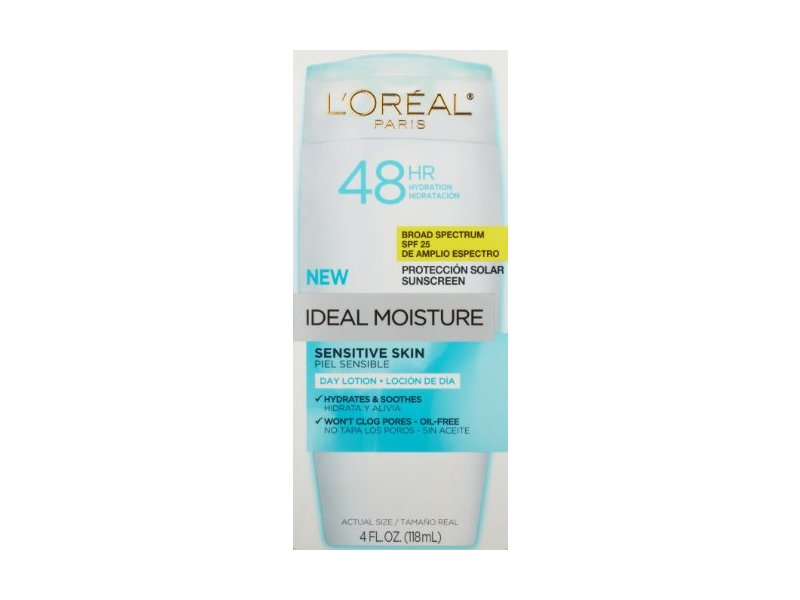 L'oreal Paris Ideal Moisture Sensitive Skin Day Lotion SPF 25