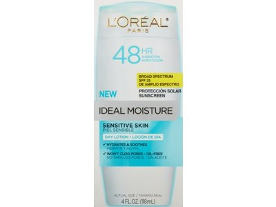 L'oreal Paris Ideal Moisture Sensitive Skin Day Lotion SPF 25 - Image 1