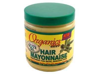 Africa's Best Organics Hair Mayonnaise 15 oz (Pack of 8)