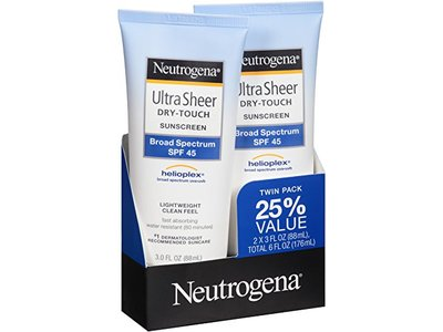 Neutrogena Ultra Sheer Dry-touch Sunscreen Broad Spectrum SPF-30, Johnson & Johnson - Image 6