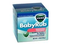 Vicks BabyRub Soothing Vapor Ointment,1.76 oz - Image 2