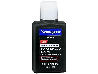 neutrogena men sensitive skin post shave balm, johnson & johnson - Image 1