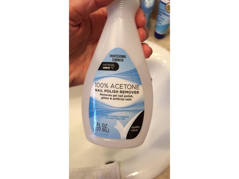 Exchange Select 100% Acetone Nail Polish Remover
