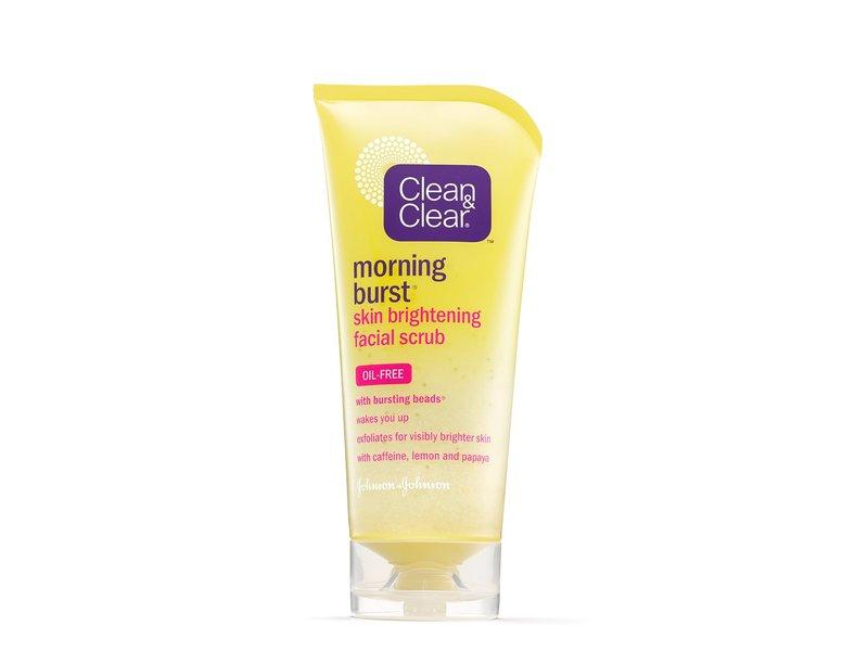 Clean & Clear Morning Burst Skin Brightening Facial Scrub, johnson & johnson
