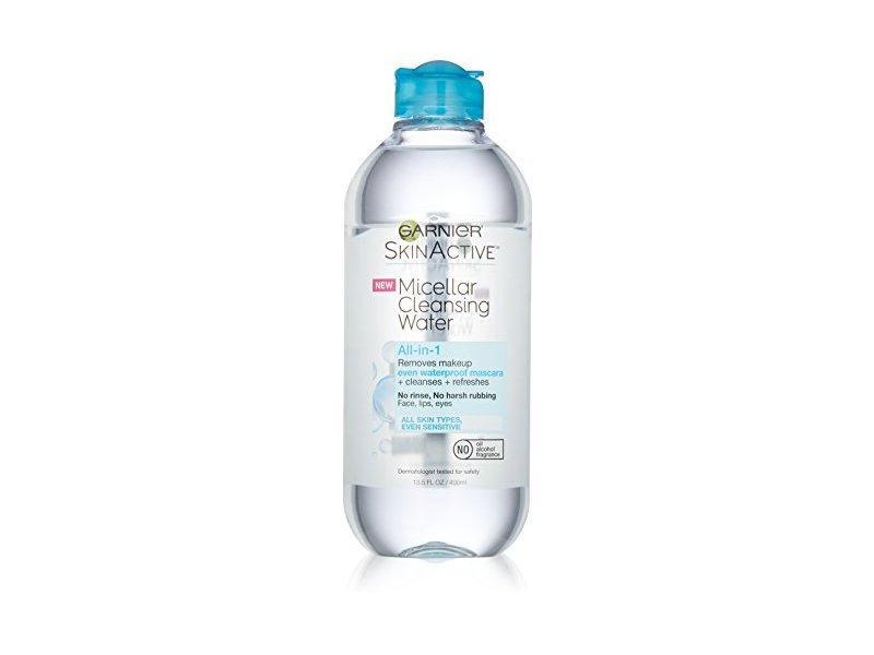 Garnier SkinActive Micellar Cleansing Water All-in-1 Cleanser & Waterproof Makeup Remover