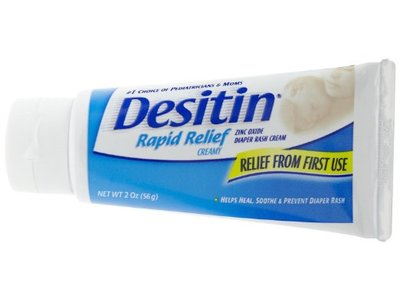 Desitin Rapid Relief Cream, johnson & johnson