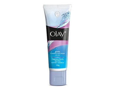Olay Gentle Foaming Face Wash with Aloe, 100 g - Image 3