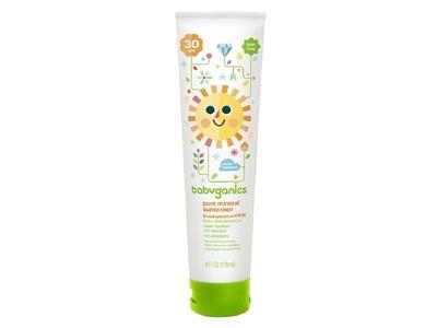 Babyganics Pure Mineral Sunscreen, 30 SPF, 4 fl oz